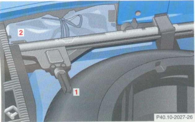 5.6 Автомобильный домкрат Mercedes-Benz W208 (CLK Class)