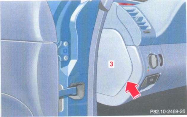 5.7 Электрические предохранители Mercedes-Benz W208 (CLK Class)