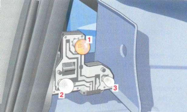 5.13.3 Замена ламп накаливания: задние фонари