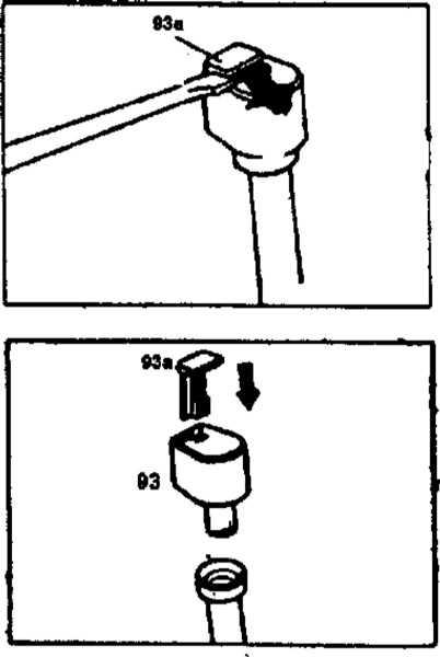 Проверить уровень масла в двигателе на мерседес