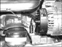 4.6 Местоположение основных датчиков бензинового двигателя