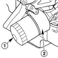3.7 Замена двигательного масла и масляного фильтра Mercedes-Benz W220