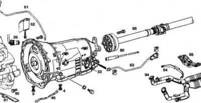 8.3 Снятие и установка АТ с гидротрансформатором