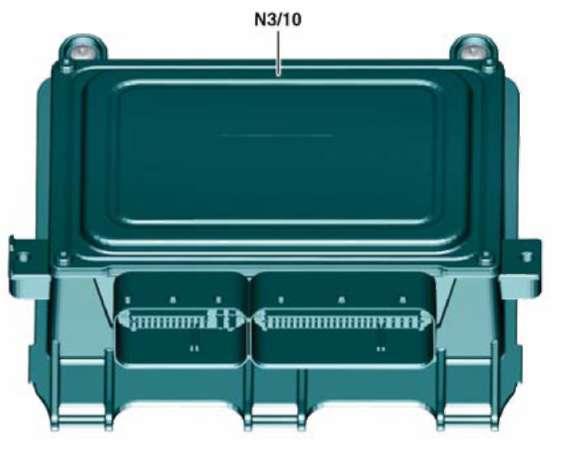 3.2.4 Блок управления бензинового двигателя Mercedes-Benz W245 (B Class)