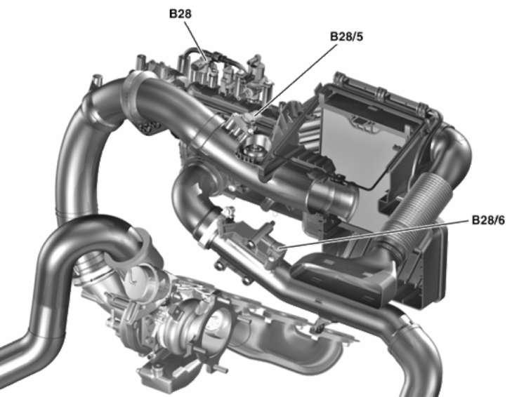 3.2.13 Датчик давления атмосферного воздуха Mercedes-Benz W245 (B Class)
