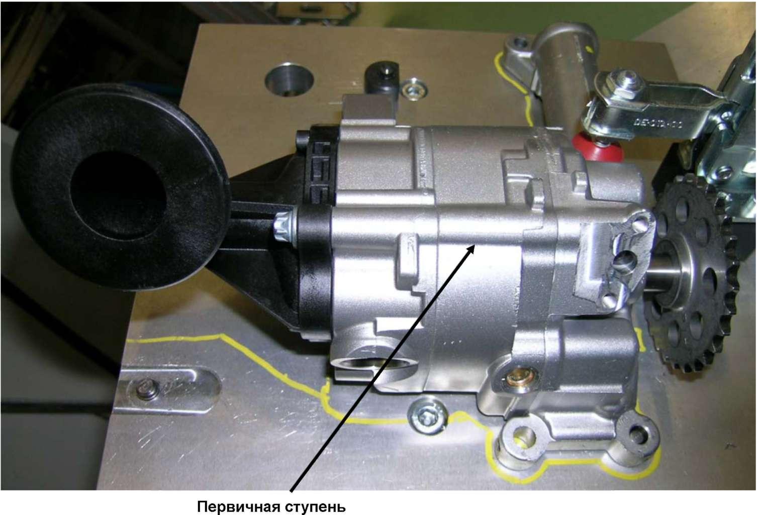3.2.20 Масляный насос двигателя с турбонаддувом