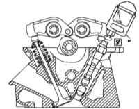 4.1 Проверка компрессионного давления Mercedes-Benz W463