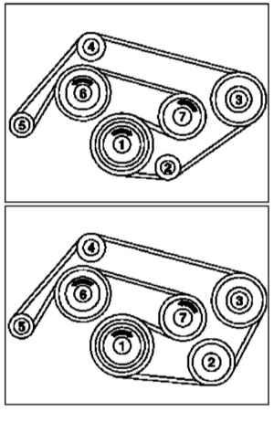4.3 Ремень Mercedes-Benz W463