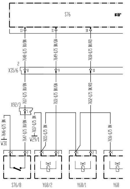 14.6 Блокировка переднего дифференциала (все модели выпуска с 01.09.01)