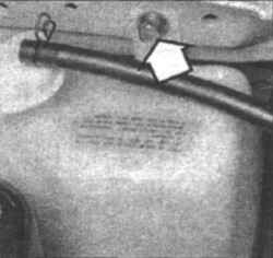 5.8 Расширительный бачок системы охлаждения - снятие и установка