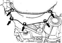 9.4 Механическая коробка передач - снятие и установка