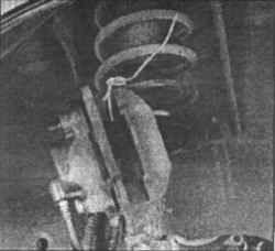 12.6 Тормозной диск - осмотр, снятие и установка