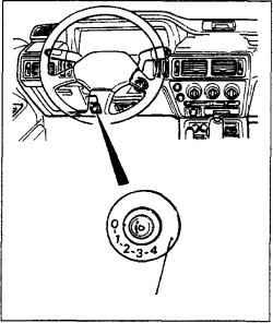 1.9 Переключатель указателя поворота и смены полосы Mitsubishi Colt