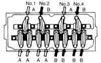 3.18 Проверка и регулировка зазоров клапанов - только Mirage