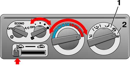 1.32 Обогрев ветрового стекла и стекол дверей Mitsubishi Pajero