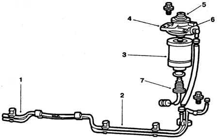 6.4 Замена фильтрующего элемента топливного фильтра