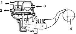 8.0 Топливная система Mitsubishi Pajero