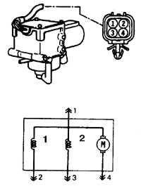 13.13.7 Узлы и агрегаты вакуумной системы круиз-контроля