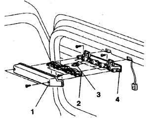 13.17.5 Лампа дополнительного сигнала торможения (1992-98 гг.)