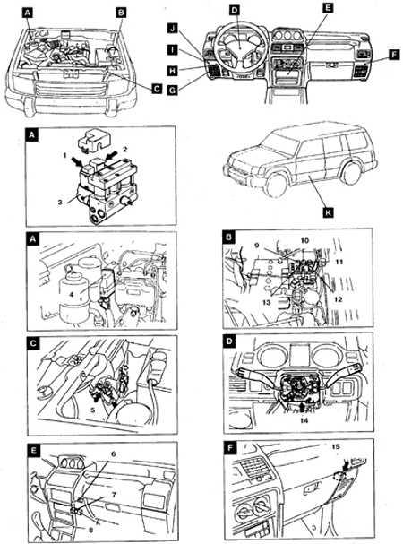 13.18.4  Автомобили 1992-98 гг.
