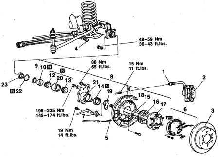 9.4.6 Полуоси, подшипники и сальники Mitsubishi Pajero