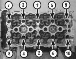 4.8.6 Проверка технического состояния и установка головки блока цилиндров
