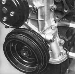 4.13.8 Проверка и установка начального угла опережения зажигания Nissan Almera