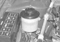 3.6 Проверка уровня жидкости гидроусилителя руля
