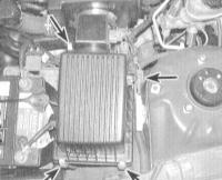 3.20 Замена фильтрующего элемента воздухоочистителя
