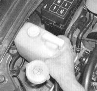 5.5 Снятие и установка радиатора и расширенного бачка системы охлаждения