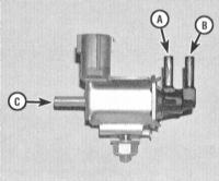 8.6 Проверка состояния и замена датчика абсолютного давления в трубопроводе (МАР)