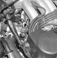8.8 Проверка состояния и замена датчика температуры охлаждающей жидкости   двигателя (ЕСТ)