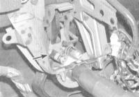 11.16 Проверка исправности функционирования и замена датчика-выключателя стоп-сигналов