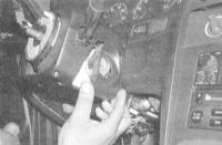 13.26 Снятие и установка секций кожуха рулевой колонки