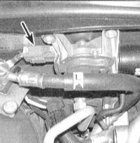 14.18 Проверка исправности функционирования, снятие и установка электромотора привода стеклоочистителей