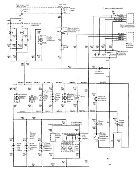 15.16 Система внутреннего освещения  (1993, 1994)