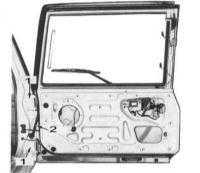 13.10  Обслуживание дверей задка моделей Хардтоп (Hardtop) и Универсал (Station Wagon) Nissan Patrol