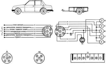 14.13  Схемы электрических соединений