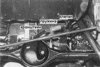 11.8  Снятие и установка клапана - регулятора давления
