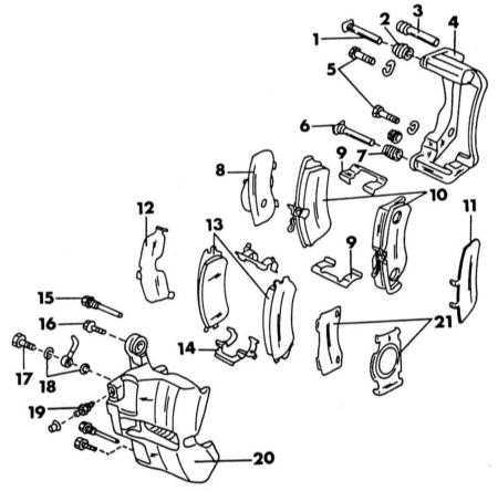 10.2 Передние тормоза Nissan Primera