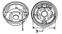 10.3 Задние тормоза Nissan Primera