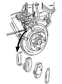 10.4 Задние дисковые тормоза Nissan Primera