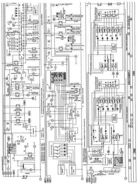 13.8 Пояснительные замечания к схемам электрических соединений