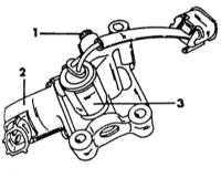 2.12 Проверка и регулировка оборотов холостого хода двигателя и уровня СО Nissan Primera
