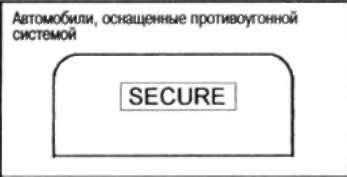 1.25.6 ПРОТИВОУГОННАЯ СИСТЕМА NISSAN (NATS)