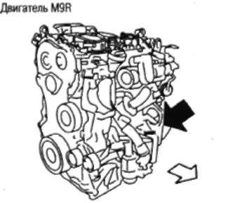 1.105.4 НОМЕР ДВИГАТЕЛЯ Nissan Qashqai