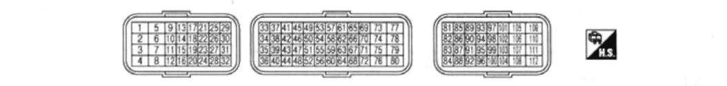 15.32.4 ДВИГАТЕЛЬ MR20DE: СТАНДАРТНЫЕ ЗНАЧЕНИЯ