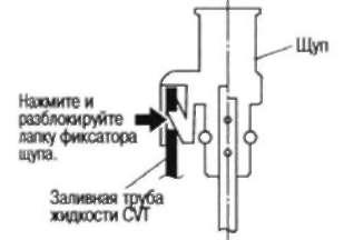 2.16.2 ПРОВЕРКА ЖИДКОСТИ CVT Nissan Qashqai