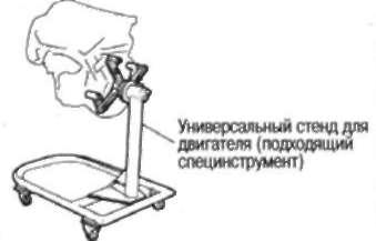 3.18.5 И СБОРКА УСТАНОВКА. ДВИГАТЕЛЯ НА СТЕНД