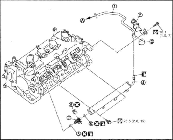 3.0 МЕХАНИЧЕСКАЯ ЧАСТЬ ДВИГАТЕЛЯ Nissan Qashqai